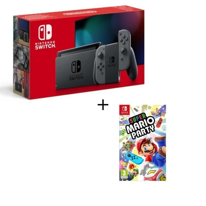 Pack Nintendo Switch V2+ Super Mario Party neuf 235 Montpellier (34)