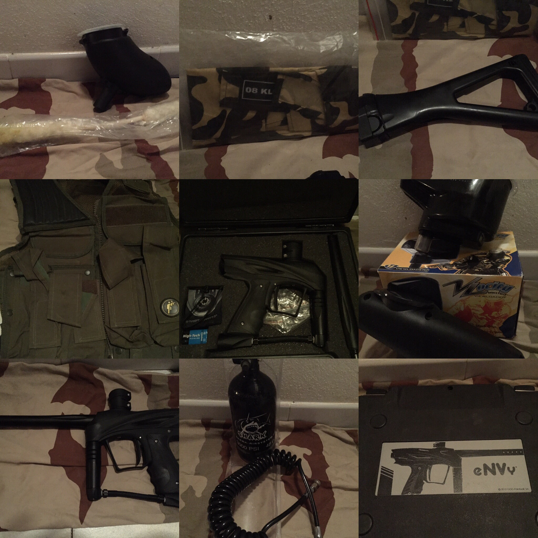 Pack paintball casi neuf Sports