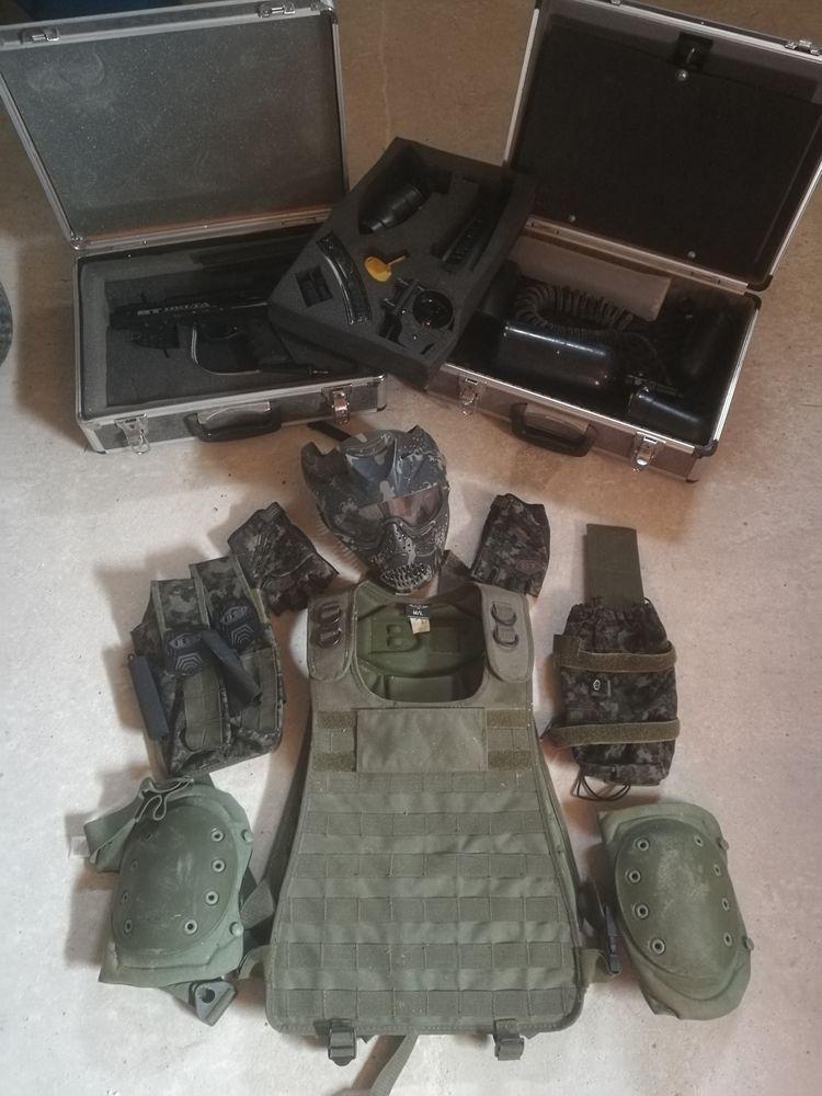 Pack paintball lanceur BT4 Delta et ensemble vêtements 290 Guilberville (50)