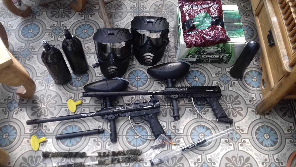 Pack paintball Sports