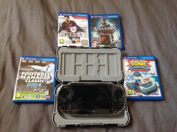 Pack Ps vita Consoles et jeux vidéos