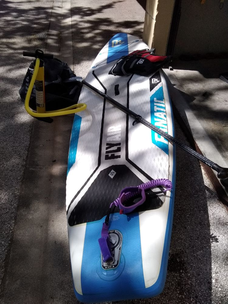 Paddle gonflable FANATIC Sports