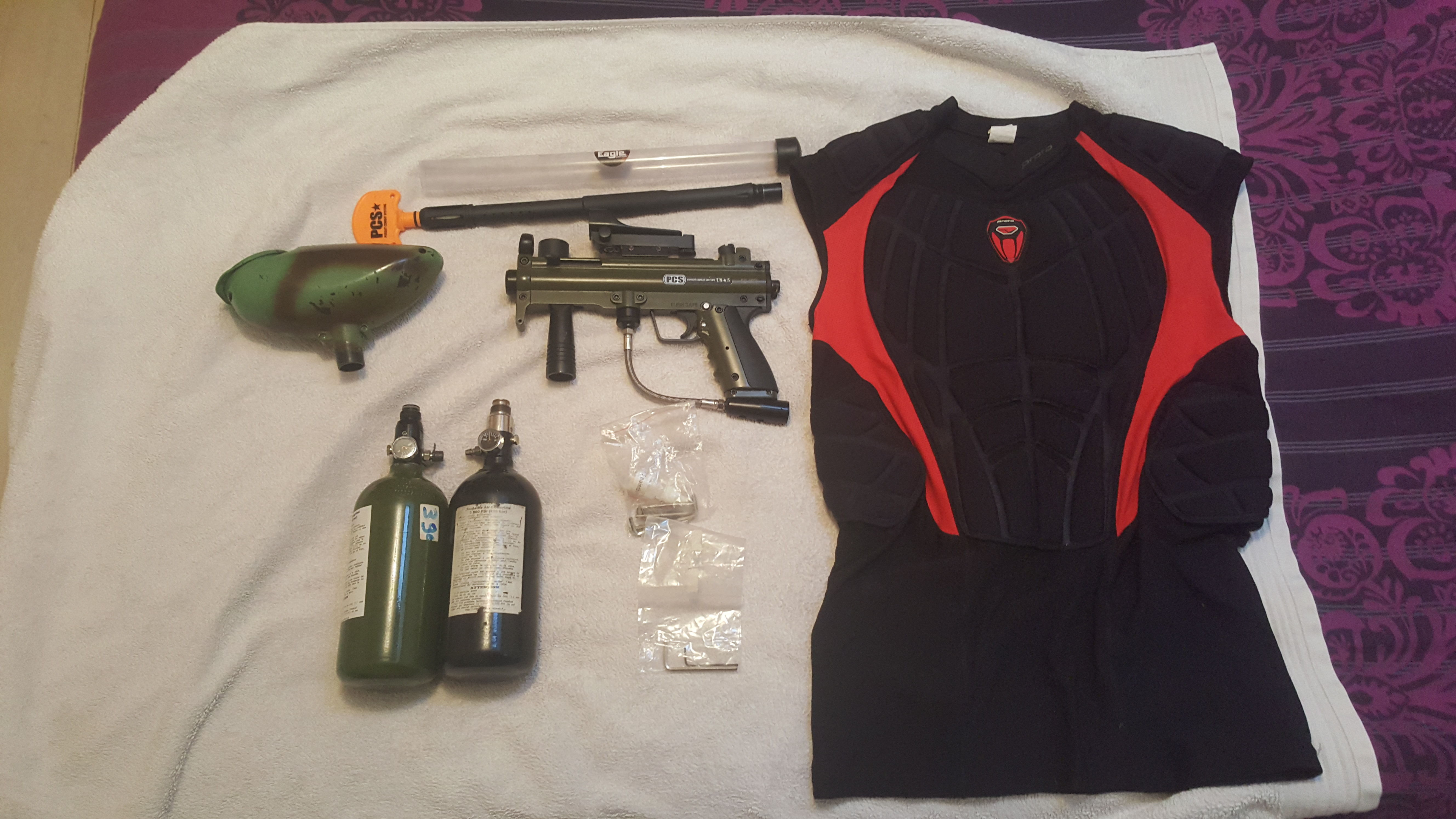 PaintBall PCS + ChestProtector Sports