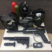 Paintball BT Combat kit M4 + tenue et accessoires  300 Tours (37)