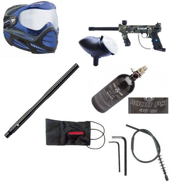 Kit paintball complet Tippman 98 Camo Sports