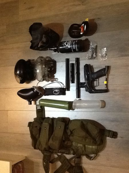 Kit paintball complet 200 Domont (95)