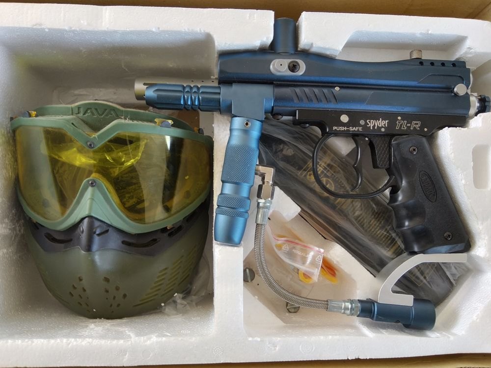 Paintball Spyder TL-R Deluxe pack  120 Étaules (17)