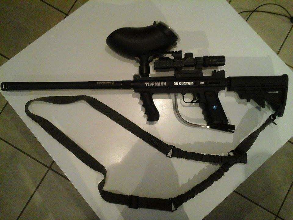 Paintball Tippmann 98 ACT custom + materiel 120 Balschwiller (68)