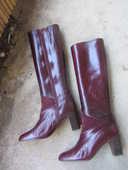 une paire de bottes femme en chevreau 70 Poissy (78)