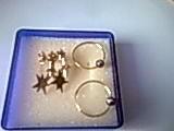 2 paire de boucle d oreille plaquer or+2 en argent 40 Domjevin (54)