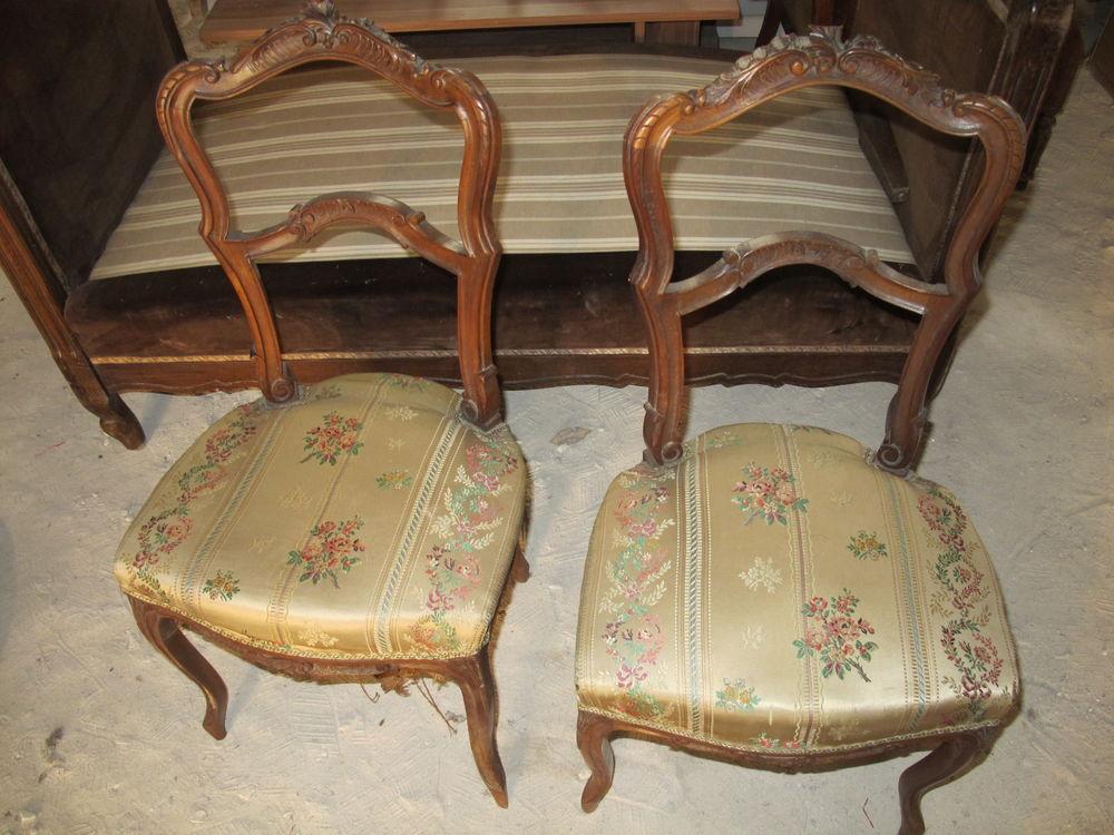 Paire de chaises anciennes 50 Parent (63)