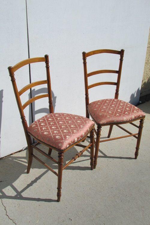 Paire de chaises de chambre, anciennes 125 Paris 15 (75)