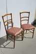 Paire de chaises de chambre, anciennes