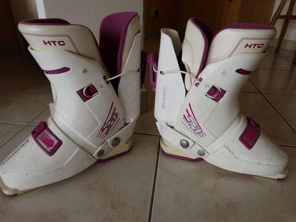 1 PAIRE Chaussures de ski femme point 38 SALOMON 20 Marseille 2 (13)