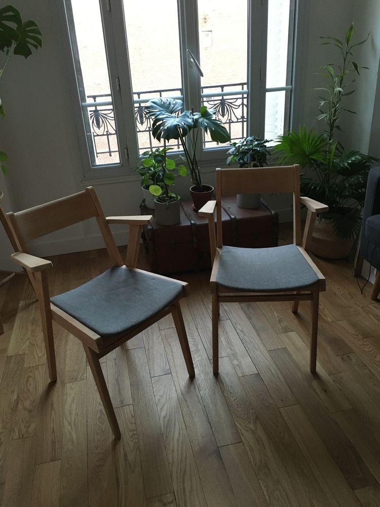 paire de fauteuils bridge-années 60 180 Clichy (92)