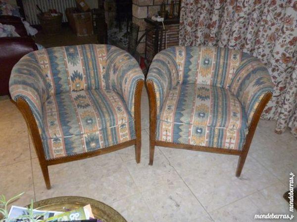 Paire de fauteuils   Cabriolet    80 Toucy (89)