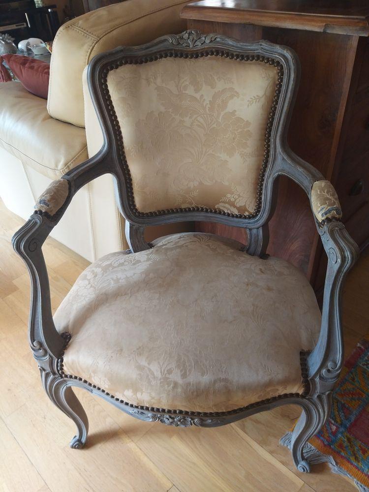 Paire de Fauteuils Cabriolet Style Louis XV 0 Béziers (34)