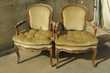 Paire de fauteuils cabriolets bergères, Style Louis XV Meubles