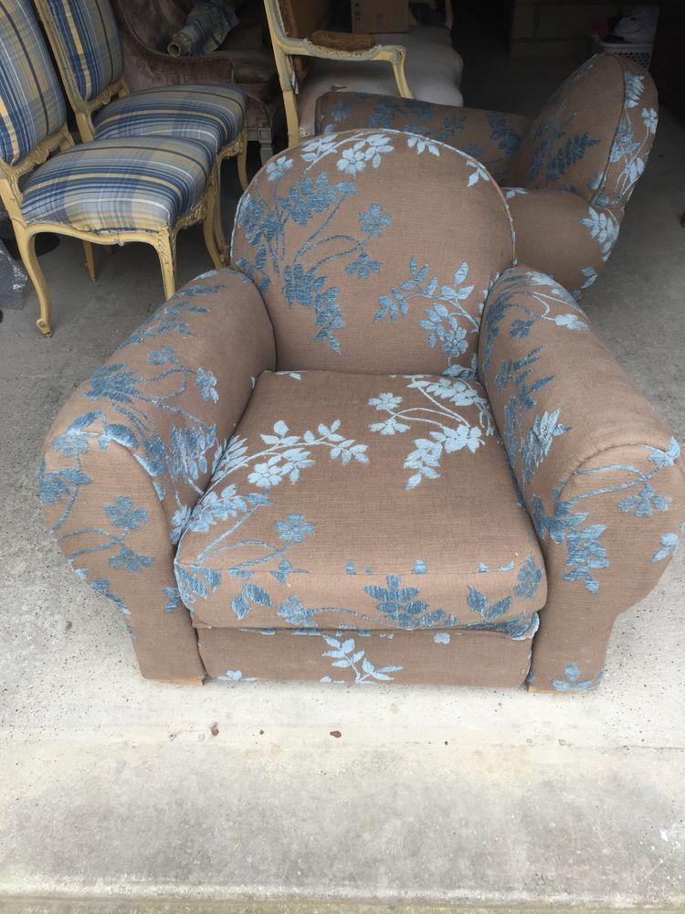 Paire de fauteuils club  550 Paris 8 (75)