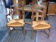 paire de fauteuils rustiques