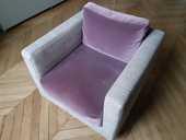 Paire de fauteuils Toile de Mayenne 430 Paris 14 (75)