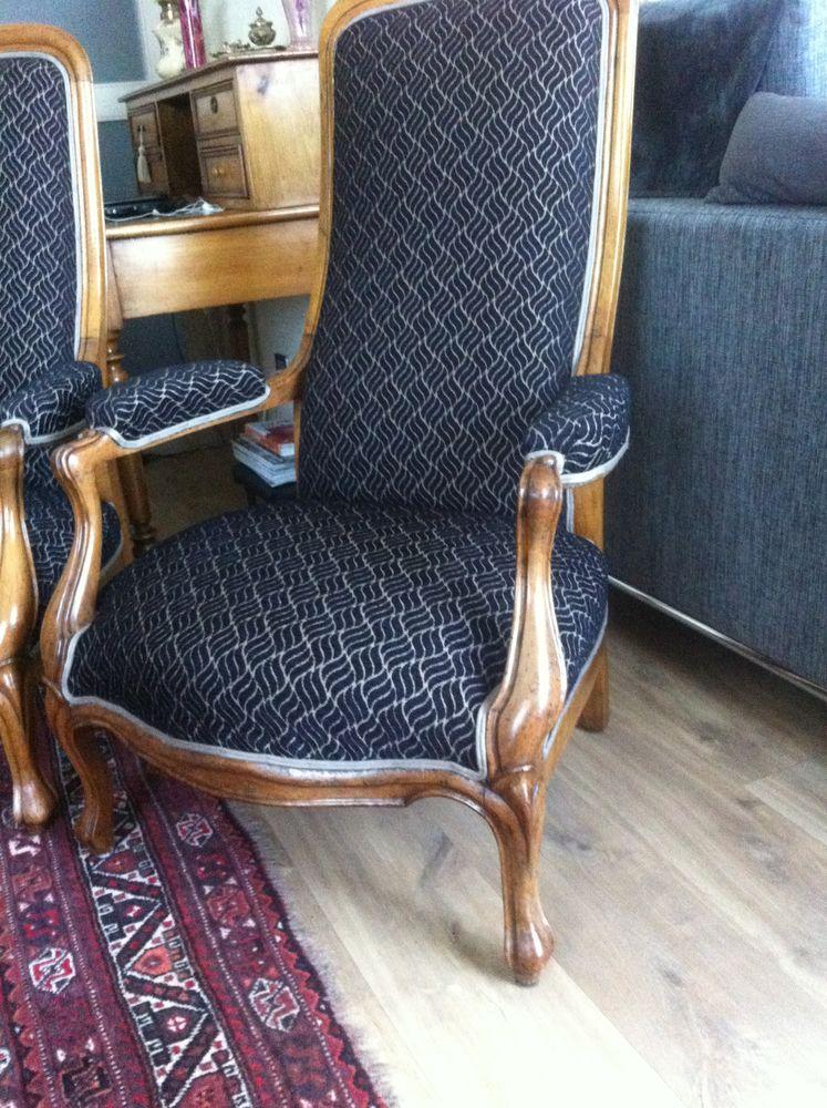 achetez paire de fauteuils occasion annonce vente poitiers 86 wb155309876. Black Bedroom Furniture Sets. Home Design Ideas
