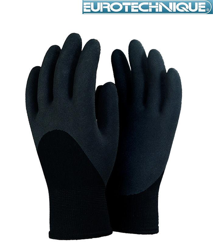 Par lot de 12 paire de gant de travail FOURRÉ ANTI FROID T-9-10-11 gant termo COMME NINJA 3 Lens (62)