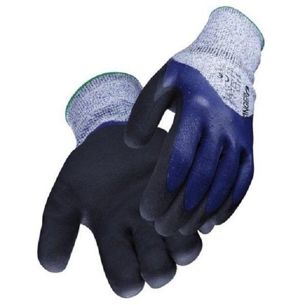 6 Paire de gant de travail nitrile gripcut 5 à la coupure T-9 SINGER Bricolage