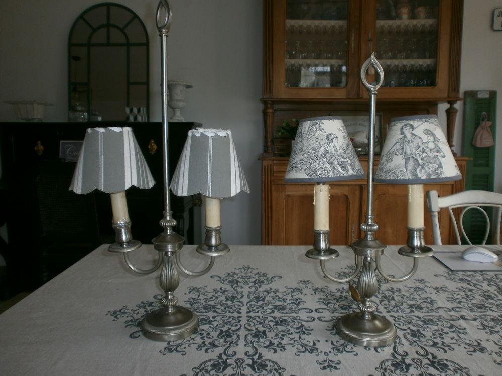 Paire de lampes anciennes Décoration