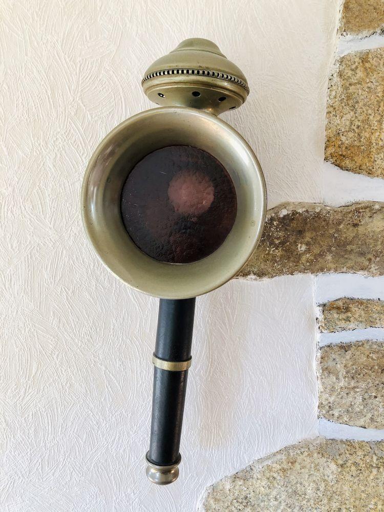 Paire de lampes de cocher fiacre anciennes  100 Ploemeur (56)
