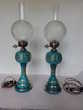 paire de lampes à pétrole électrifiés napoléon III Nanterre (92)