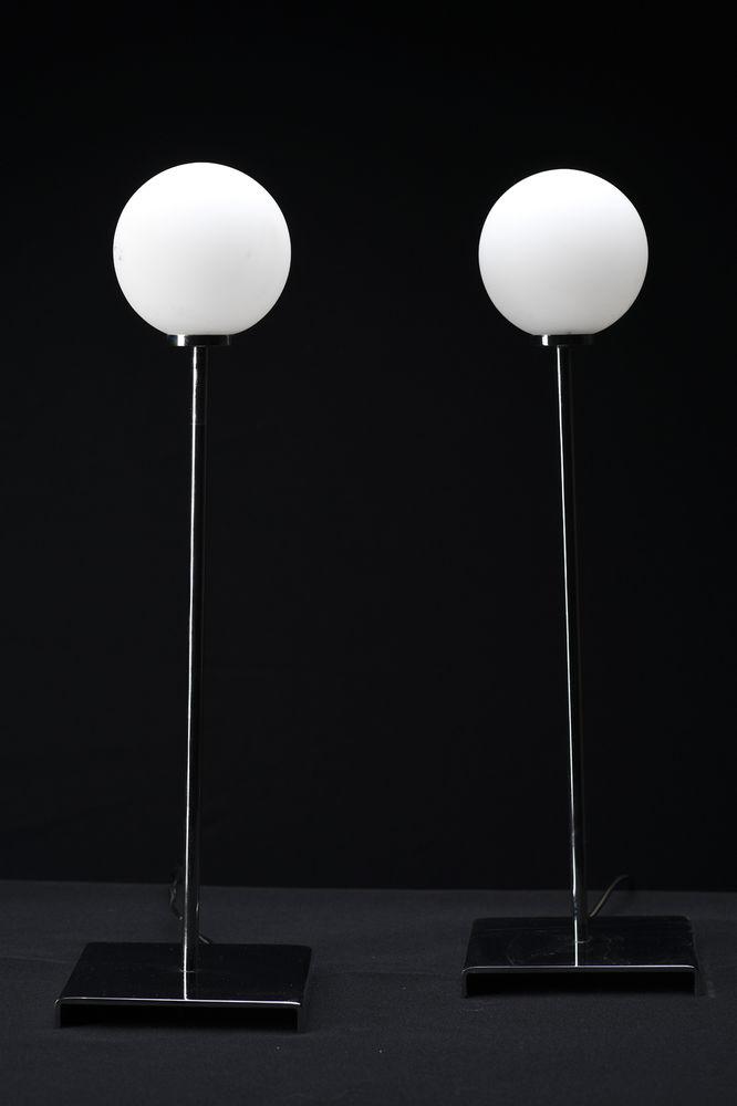 Paire de lampes sphère 45 Paris 17 (75)