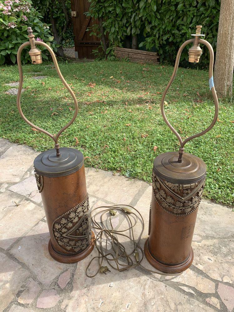 Paire de lampes uniques  150 Cergy (95)