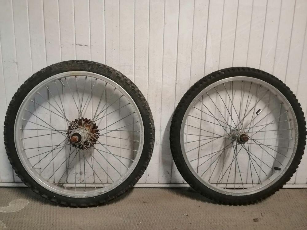 Paire de roues 20 pouces  15 Saint-Jean-de-Monts (85)