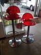 Paire de tabourets plexiglas rouge Toulouse (31)
