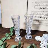 Paire de vase en cristal vintage 32 Bordeaux (33)