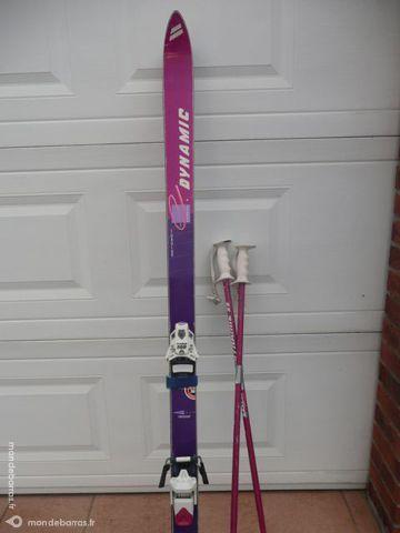 2 paires de ski alpin 1M70 et 1M80 120 Berck (62)