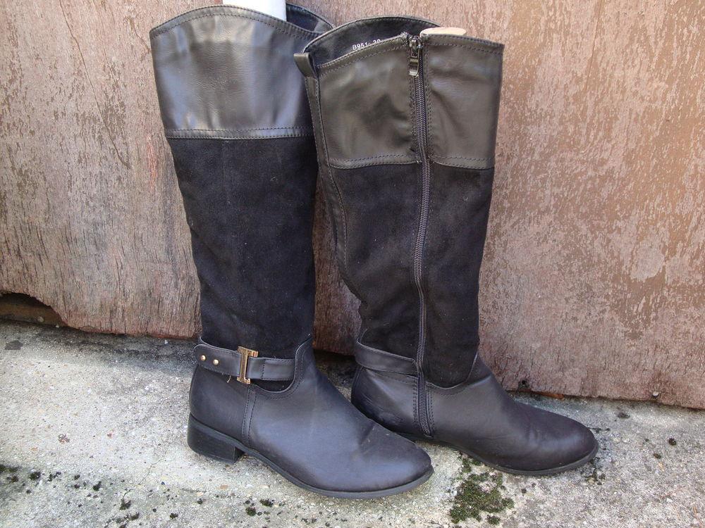 2 paires de bottes taille 39 15 Sevran (93)