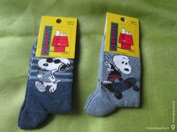 Lot de 2 paires de chaussettes «Snoopy» 6 Goussainville (95)