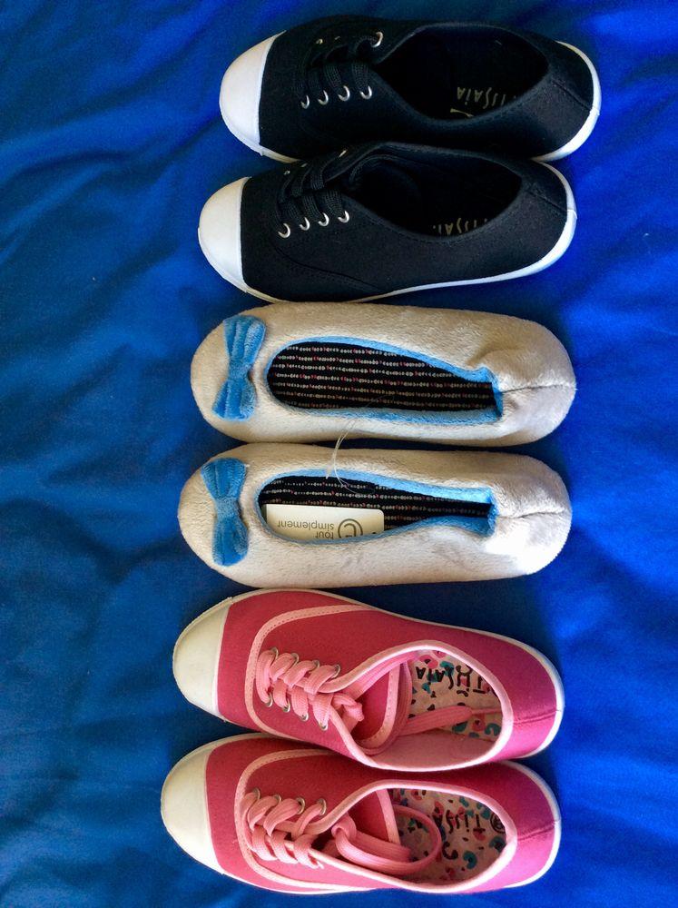 3 paires chaussures NEUVES trop petites taille 36  15 La Bourboule (63)
