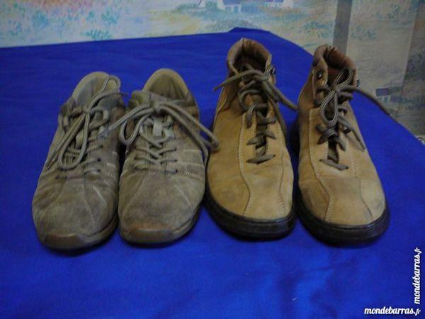 Lot 2 paires chaussures Quechua femme, 40 5 Lens (62)