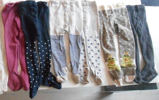 6 paires de collants divers 9-12 mois 12 Mâcon (71)