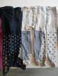 6 paires de collants divers 9-12 mois Vêtements enfants