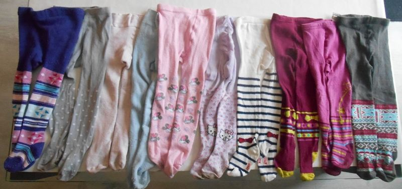 10 paires de collants fille divers 12-18 mois 20 Mâcon (71)