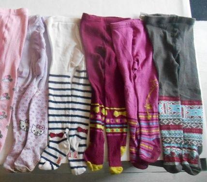 5 paires de collants fille divers 18-24 mois 10 Mâcon (71)