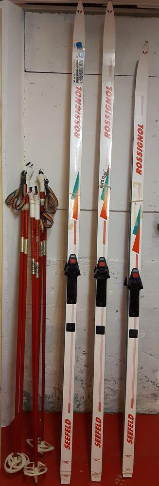 Lot de 3 paires de ski de fond  60 Heillecourt (54)