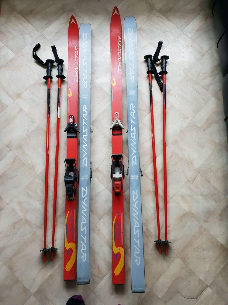 4 paires de skis très bon état: 25 Taverny (95)