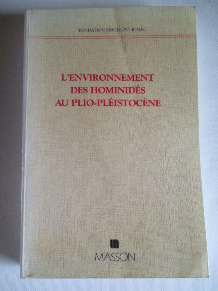 paléontologie environnement hominidés au plio pléistocène 80 Sainte-Gemme (79)
