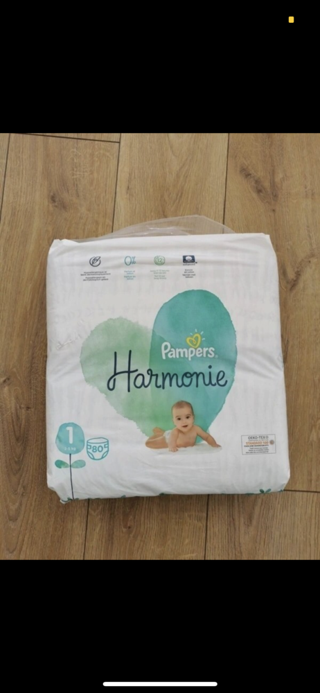 Pampers Harmonie Taille 1, 80 couches 13 Courbevoie (92)