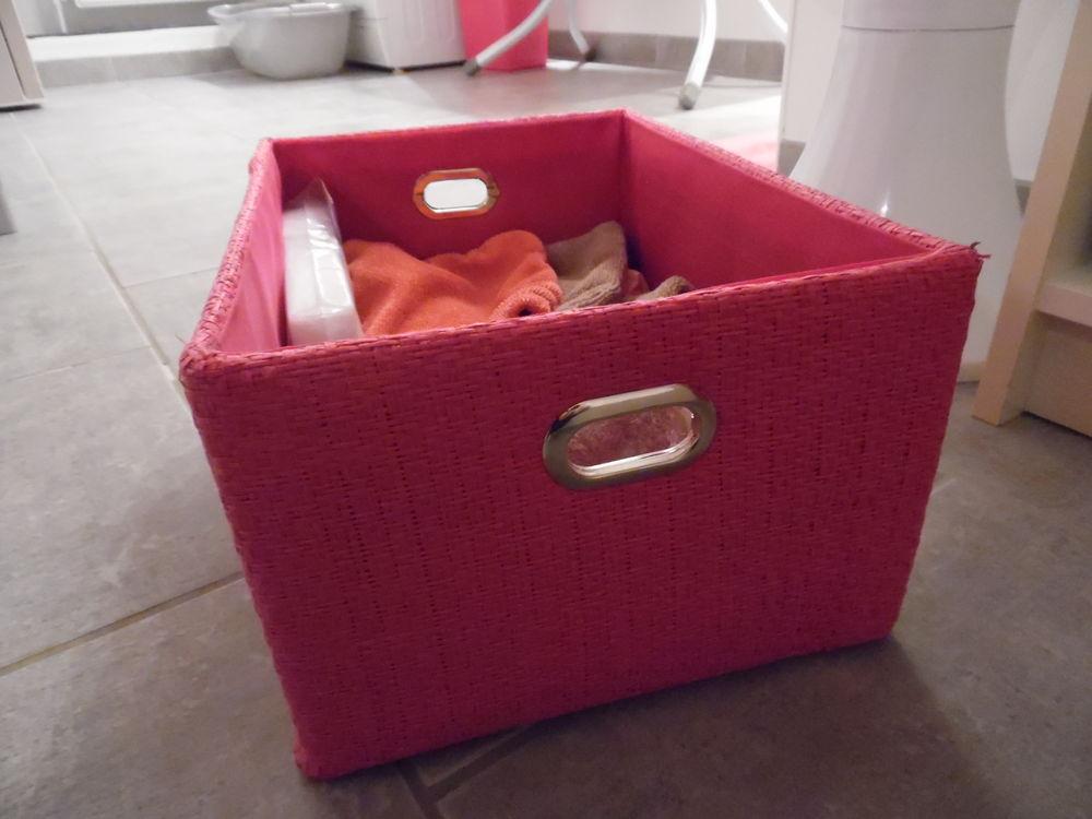panier de rangement rigide, coloris rose 5 Abbeville (80)